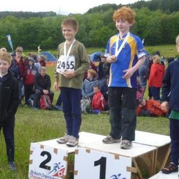 Ben (on left) - 1st in M10B, Source: