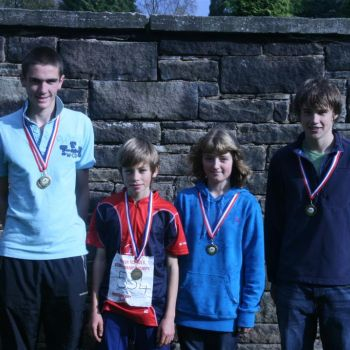 MDOC medalists at the British Schools Score Champs, Source: