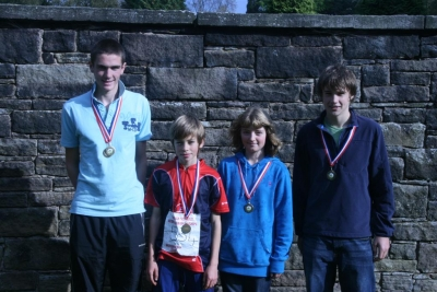 MDOC medalists at the British Schools Score Champs
