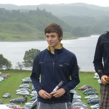 Tom - 2nd in M20L at Oban 2011, Source: