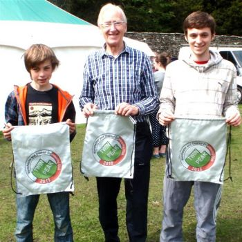 Twin Peak winners - Alistair, Andrew and Tom, Source:
