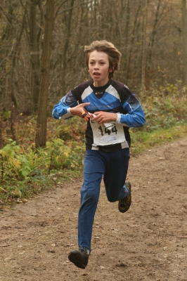 Alistair at the British Schools Orienteering Champs