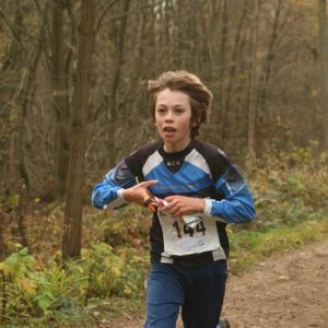 Alistair at the British Schools Orienteering Champs, Source: