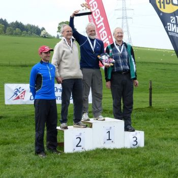 M75 podium - Andrew Gregory, 3rd, Source: