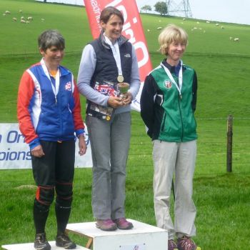 W50 podium - Vicky Thornton, 3rd, Source:
