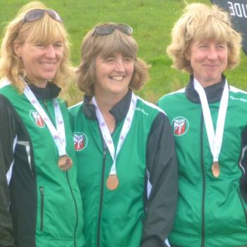 W50 team - Heather, Hazel and Vicky, 2nd, Source: