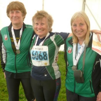 W60 team - Alison, Margaret and Julie, 2nd, Source:Andrew Gregory