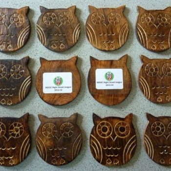 Owl coasters, Source: