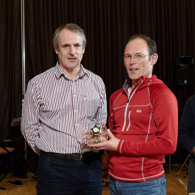 Most Improved Orienteer - Trevor Hindle