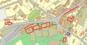 Parking locations for NSL6 Disley
