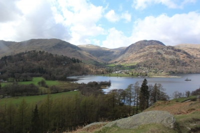 Looking towards Glenridding from walk to Start