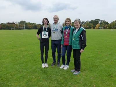 NW Sprint Champions - River, Andrew, Kate and Sue