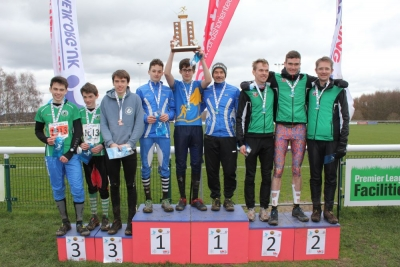 Sigurd, Tom and Liam - 2nd in Men's Short (Photo: Rob Lines)