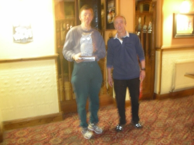 Handicap Trophy (men) - 1st, John Embrey