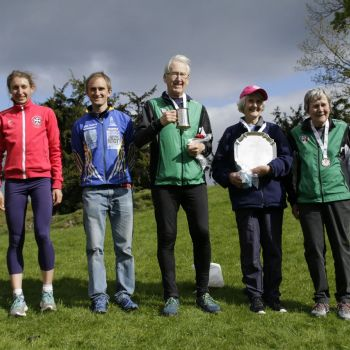 Andrew - 1st on M80, Sue - 3rd on W80, Source:Wendy Carlyle