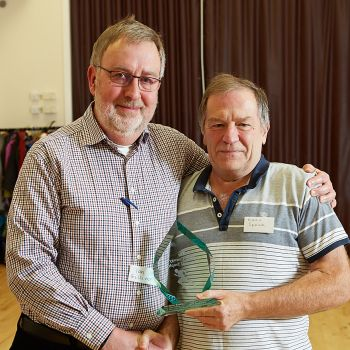 Chairman's Award presentation, Source:Peter Cull