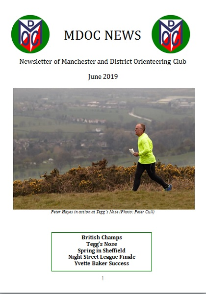 MDOC Newsletters | Manchester & District Orienteering Club